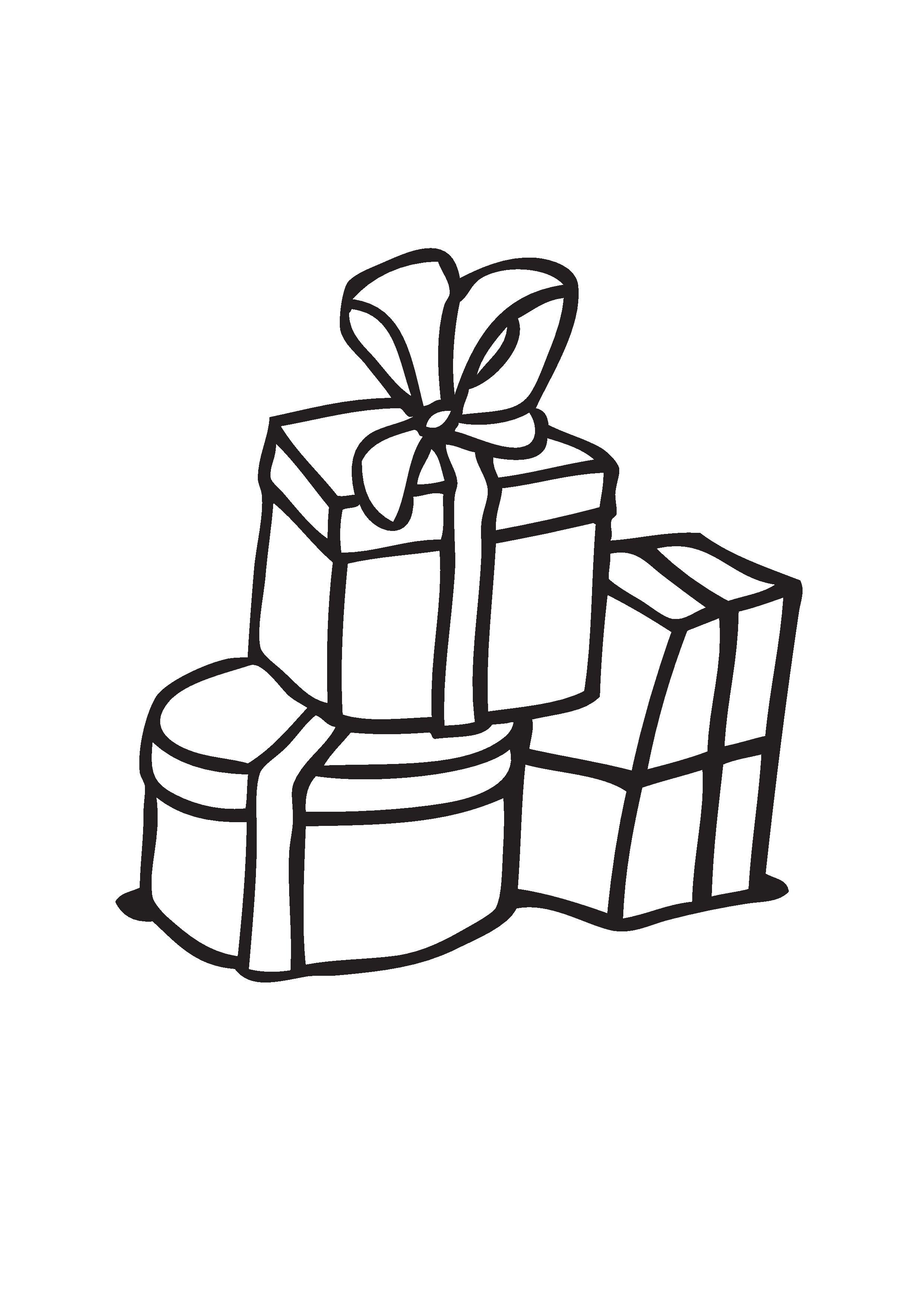 Kleurplaten Printen Sinterklaas.Kleurplaat Sinterklaas Cadeau S 2019 Voor Peuters En Kleuters